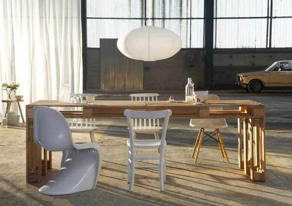 Wood Pallet Furniture Ideas