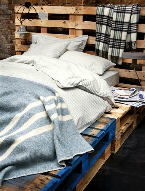 Pallet Bed With Storage Pallet Bed With Storage