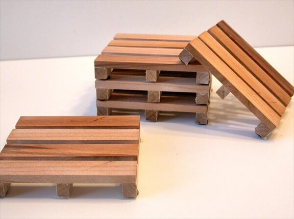 How to Make Pallet Coasters