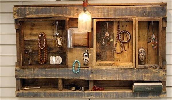 pallet storage shelves