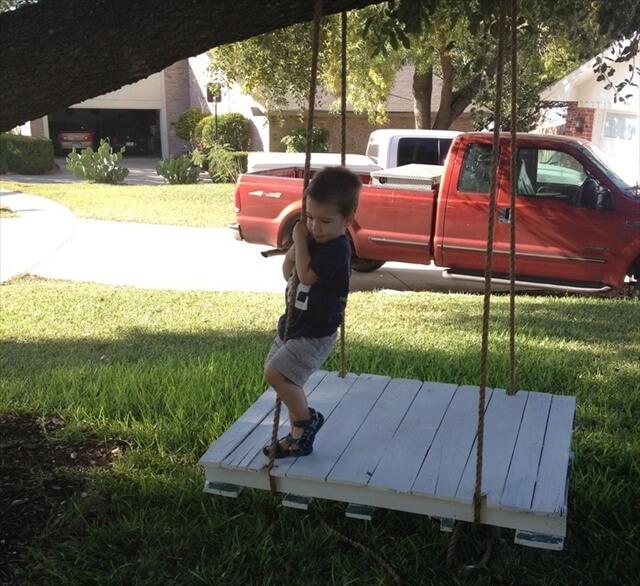 Pallet swing plans