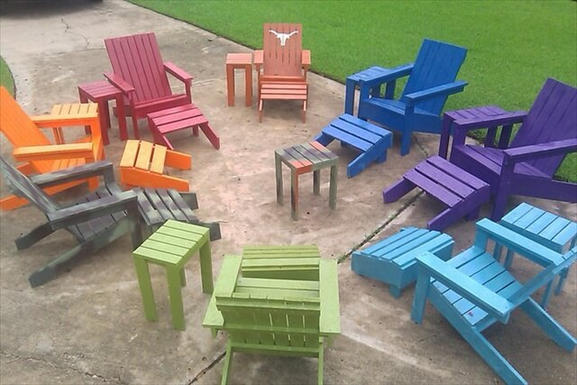 Catch Clean Pallets and Make A Pallet Adirondack chair | Pallet ...