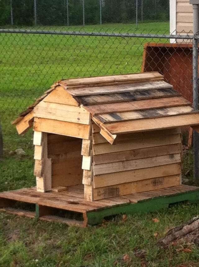 pallet building plans. bring the luck to home: 16 pallet dog house building plans