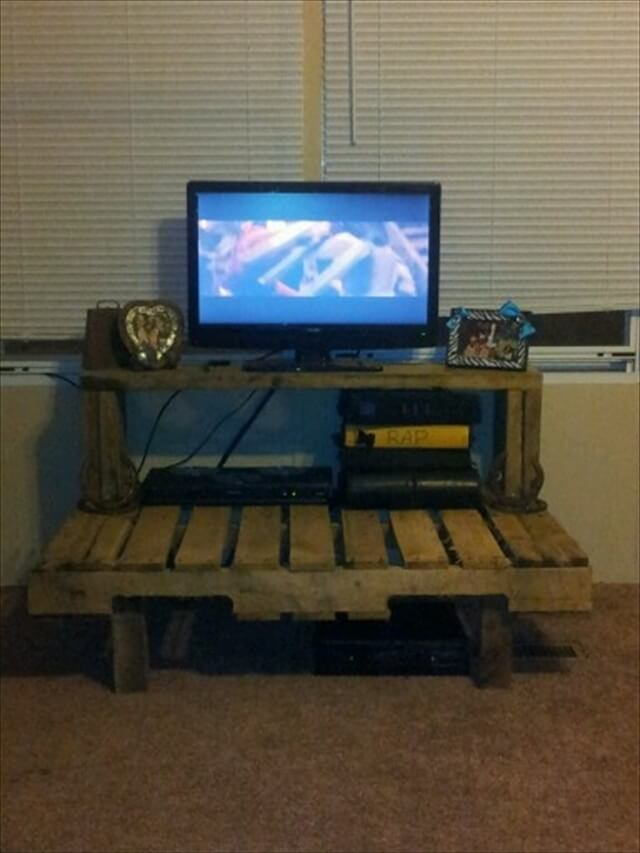Seven Ravishing Plans On Pallet Tv Stand Pallet