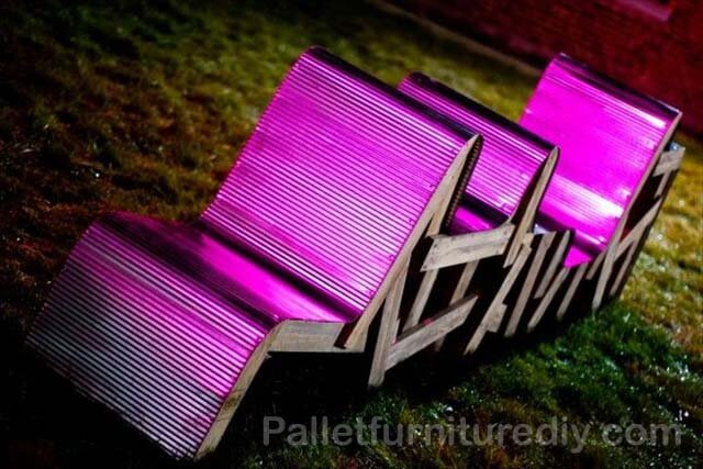 Amazing Pallet Garden Set Project