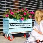 Pallet Planter Box Idea for Awesome Garden