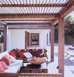 Covered Terrace with Pallets