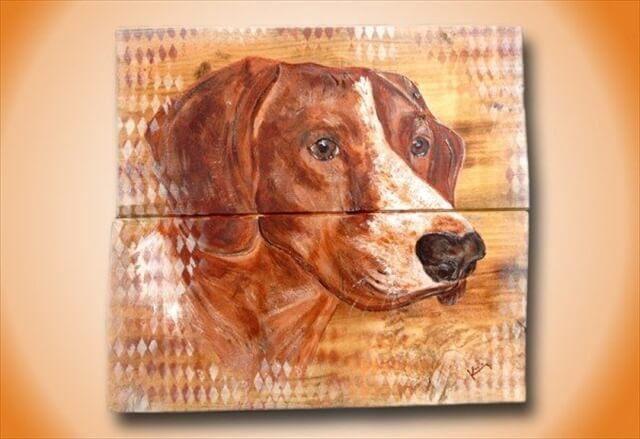 wooden pallet art ideas