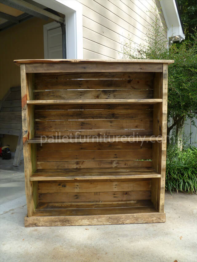Bookcase Plans Pallets PDF Woodworking