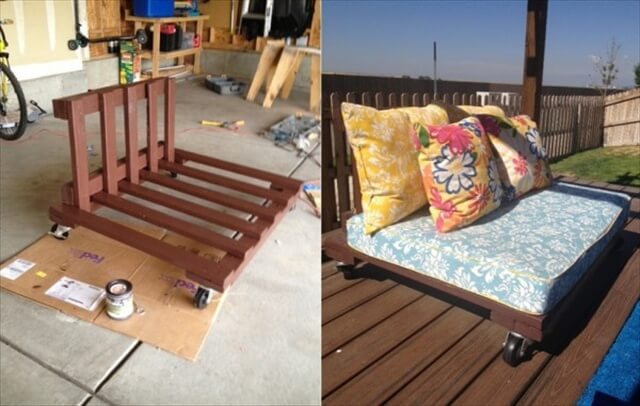 Pallet Patio Set