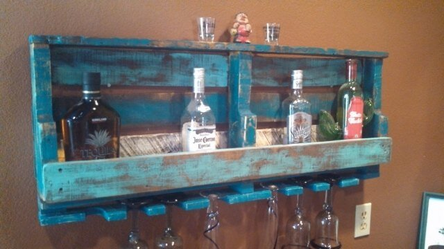 How To Make A Wooden Pallet Wine Rack
