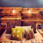 7 DIY Pallet Headboard Ideas
