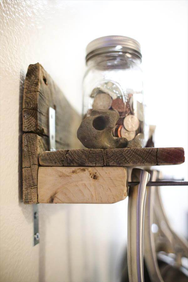 pallet shelf for kitchen