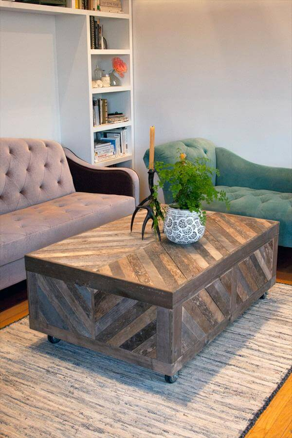 Pallet and Barn Wood Table