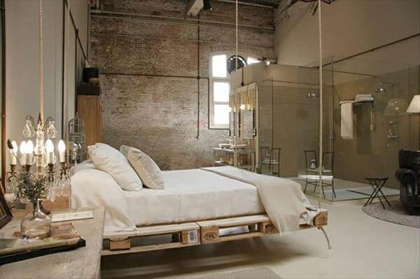 provident pallet bed swing