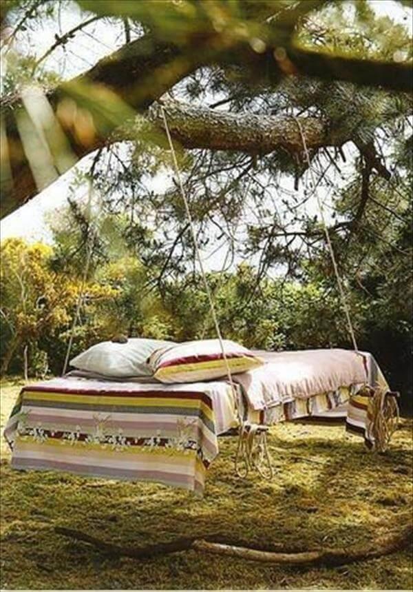 pallet bed swing