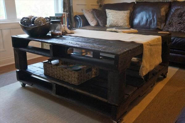 plans a pallet coffee table