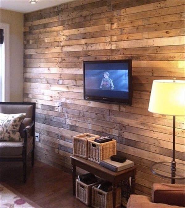 16 Diy Wood Pallet Wall Ideas