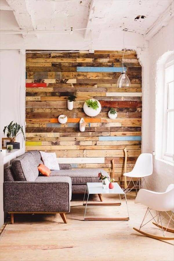 Living Wall Using Pallets