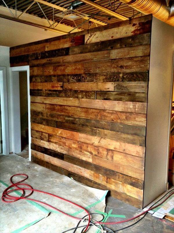 Pallet Wall Instructions