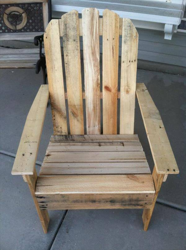 Adirondack Made From Pallets