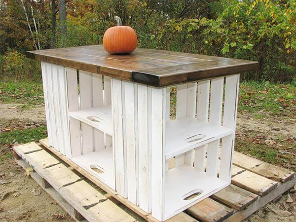 upcycled crate outdoor furniture