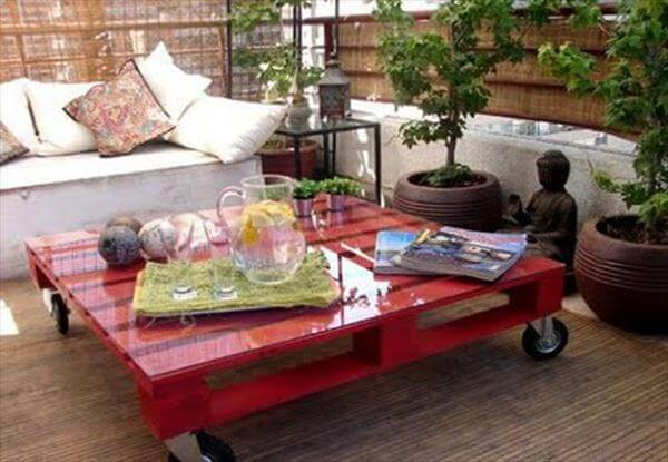 12 DIY Pallet Coffee Tables with Instructions | Pallet ...