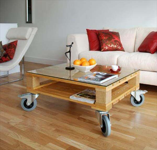 12 DIY Pallet Coffee Tables With Instructions Furniture