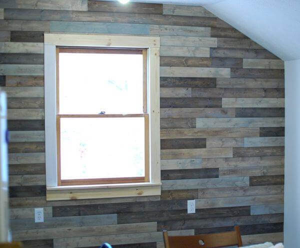 DIY Wood Pallet Headboard Instructions Wood Pallet Coffee Table Wood ...