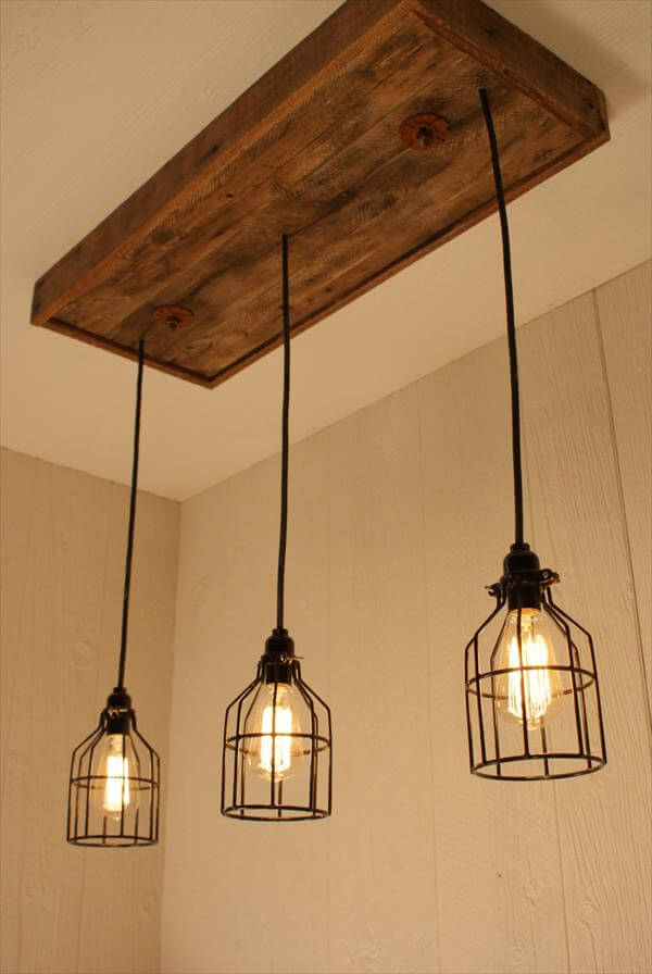 diy pallet bulbs chandelier pallet furniture diy