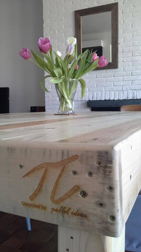 dining table out of pallet