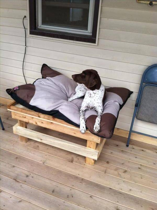Most Useful DIY Pallet Dog Bed 600 x 802 · 62 kB · jpeg
