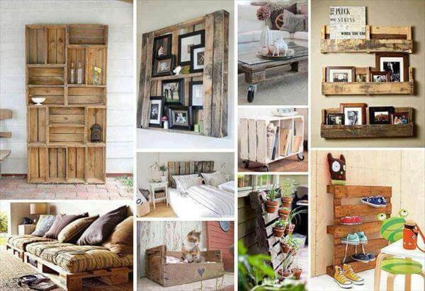 wood pallets furniture. 30 diy furniture made from wooden pallets wood