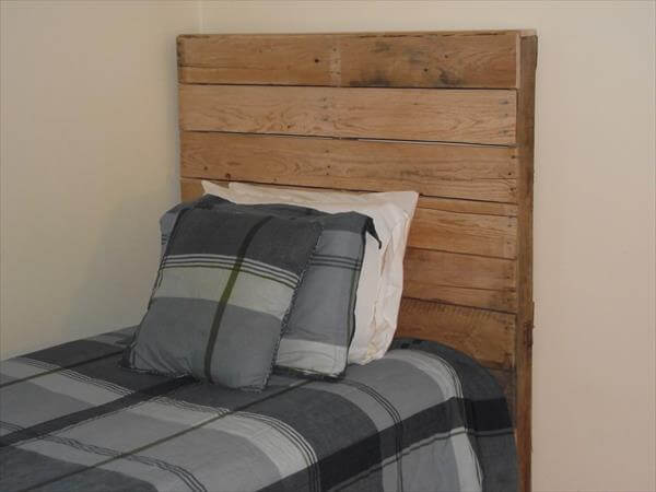 DIY Twin Bed Made From Pallets | Pallet Furniture DIY