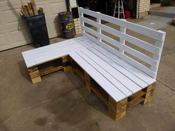 DIY Sectional Bench