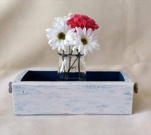 recycled pallet wooden box