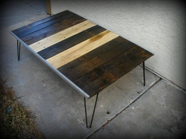 DIY Salvaged Pallet Coffee Table | Pallet Furniture DIY