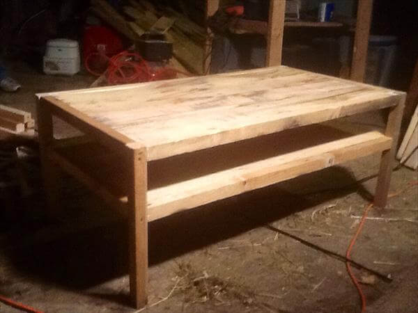 DIY Reclaimed Pallet Wood Table | Pallet Furniture DIY