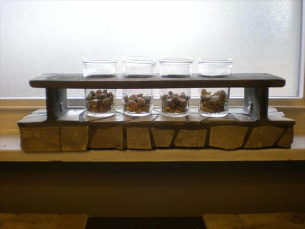 recycled pallet coffee table accent