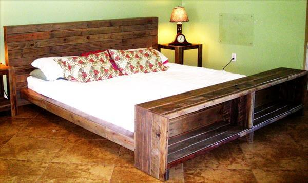 ... diy pallet side tables nightstands end tables pallet nightstand