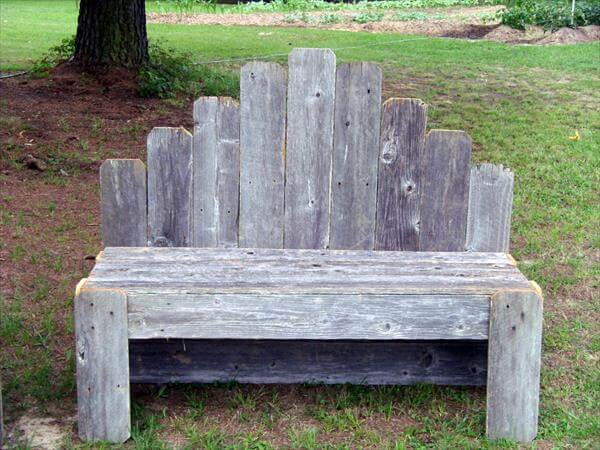 diy pallet garden bench pallet furniture diy