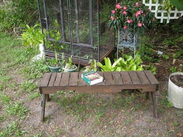 Pallet Zen Bench
