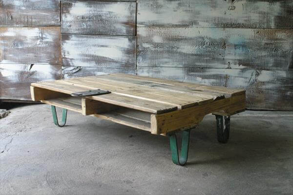 Posts Pallet Coffee Table With Hairpin Legs Pallet Rustic Coffee Table