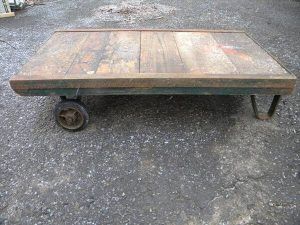 recycled pallet industrial cart