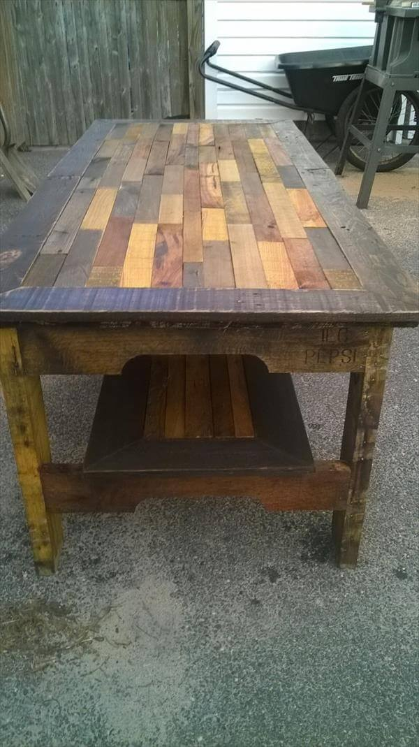 Deck Knowing Pinterest Diy Pallet Coffee Table