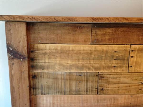 oak king size headboard 2