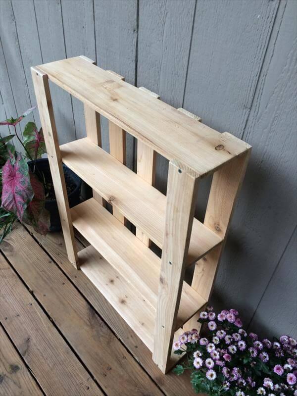 Build Wooden Shelf Unit