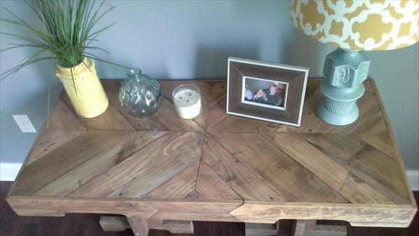 Pallet Wood Desk Top