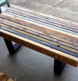 recycled pallet sturdy coffee table