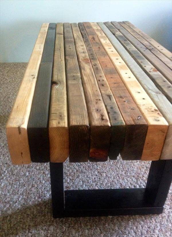 pallet furniture coffee table. diy pallet wood coffee table furniture